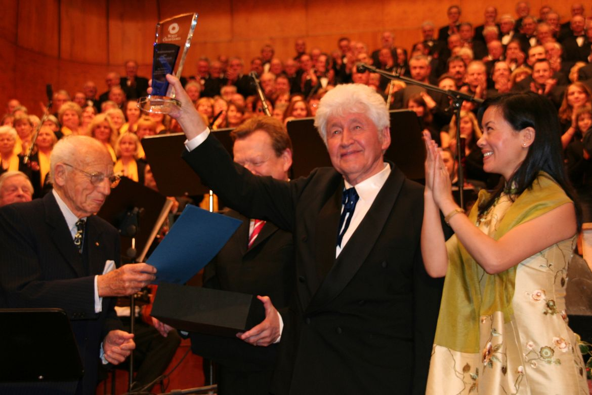 World Peace Award 2006: Gotthilf Fischer | @ INTERKULTUR